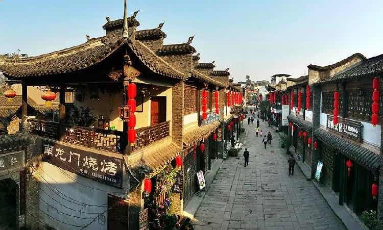 Longxing Ancient Town in Chongqing