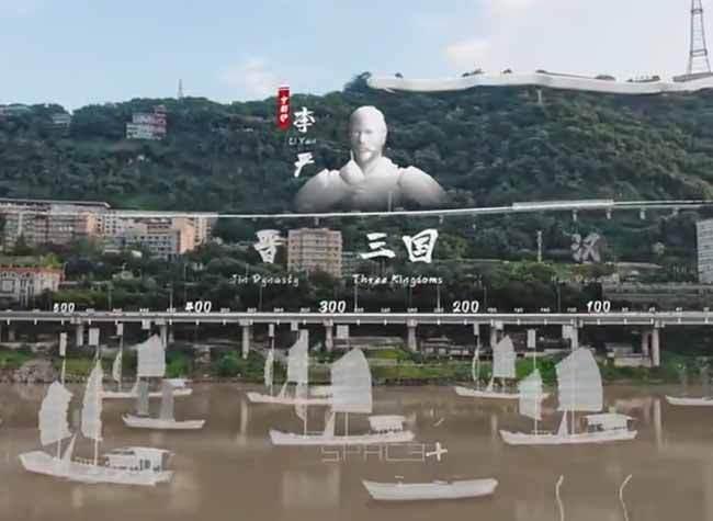Breathtaking! 3D Video Presents You A Different Hualong Bridge