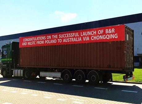 YPL Pioneers Chongqing Freight Link between Europe and Australia