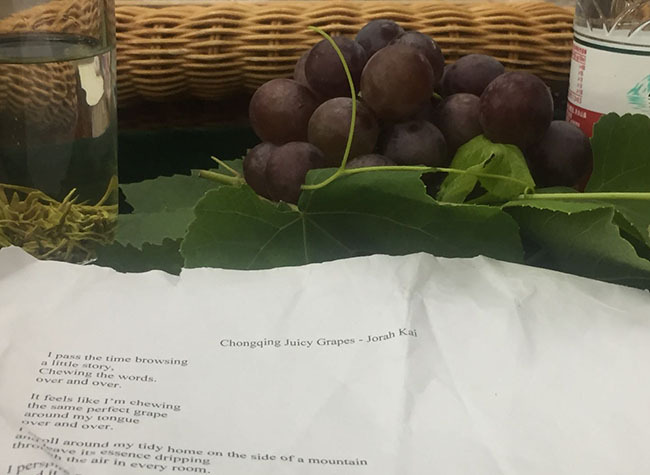 Kai's Diary, Interlude: Chongqing Juicy Grapes