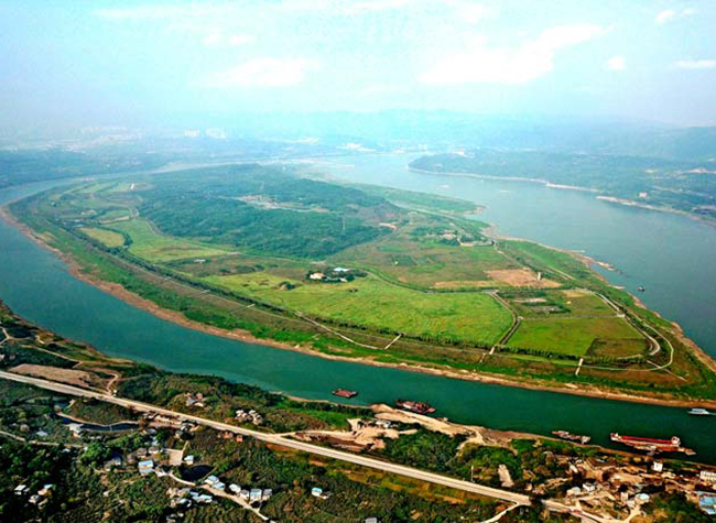 Chaotianmen-Guangyang Isle Ecological Sightseeing Route Launched