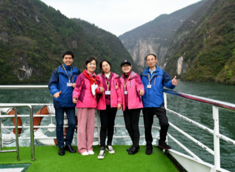 Modern Wushan City Welcomes Everybody to See the Beautiful Yangtze Three Gorges!