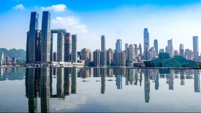 SW China's Chongqing Reaches a Record High on Its Social Financing Scale