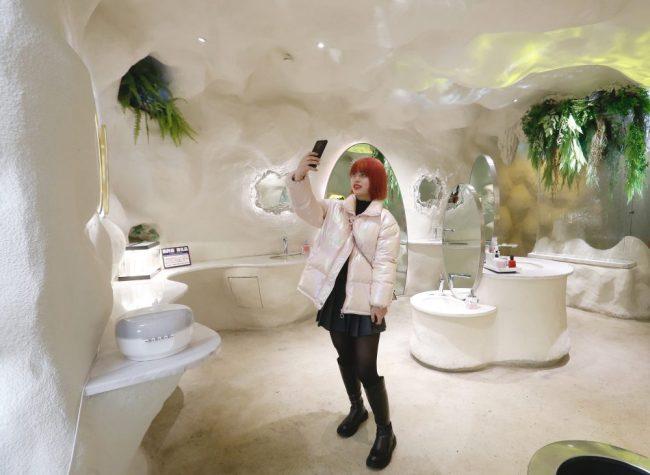 Flushed Netizens Flock to Flick China's 'Most Beautiful Washroom'