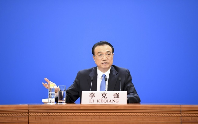 Chinese Premier: China's GDP Growth Target for 2021 is Not Low