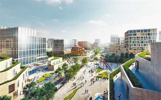 Pooling Global Wisdom, Science City to Construct Financial Street Area