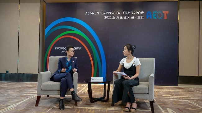 Interview: More companies will choose to invest in Asia or Chongqing in the future