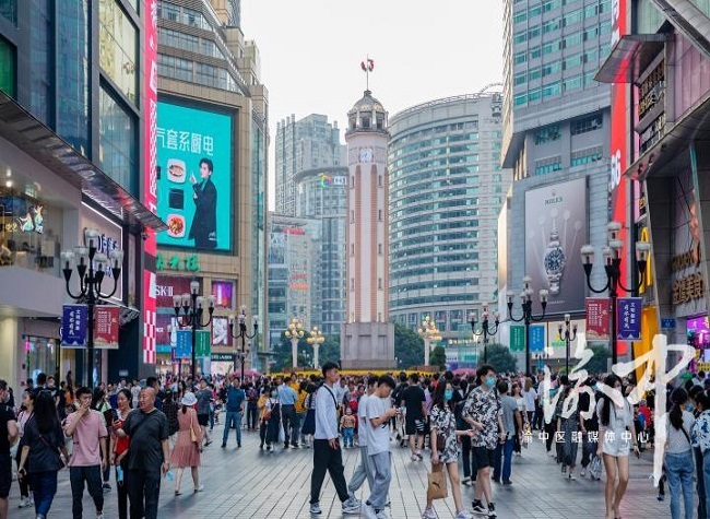 Yuzhong District received more than 3.98 million tourists during the holiday by May 3