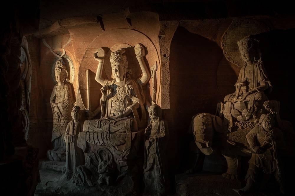 Dazu Rock Carvings(Photo by Luo Guojia)