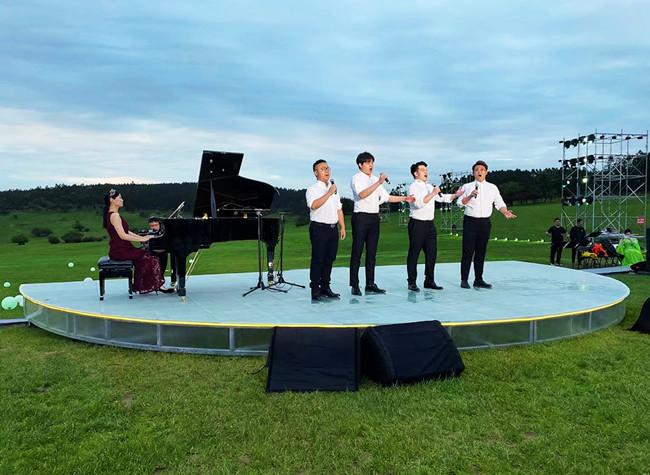 Vlog: Fairy Mountain Grasslands Host Open Air Concert Following Wuling Summit