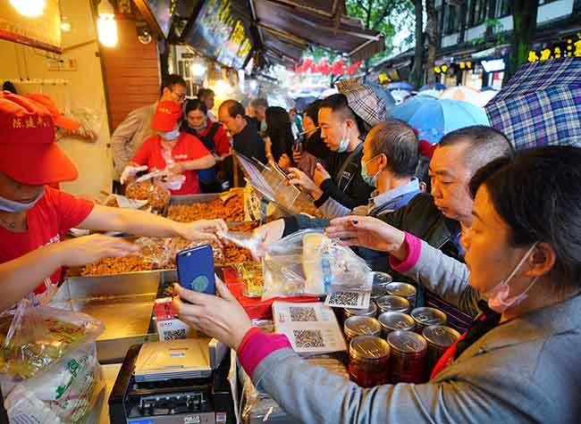 Retail Sales of Chongqing Key Business Areas Total USD 1 Billion over Holiday