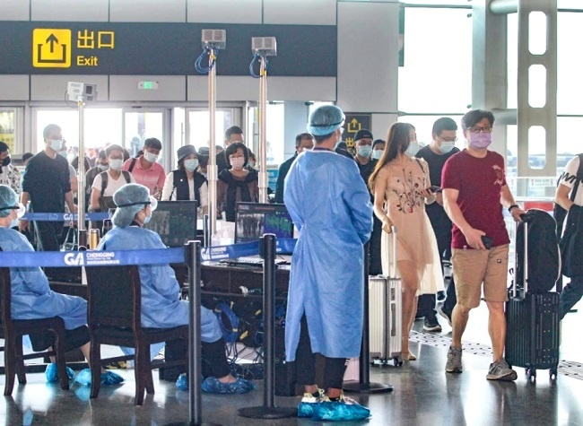 Negative PCR Test Required for Medium-High Risk Arrivals at Chongqing Jiangbei Int'l Airport