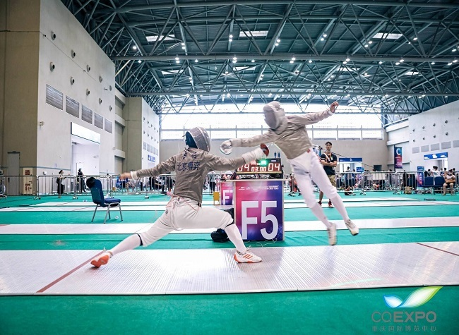 First A-level fencing competition launched in Chongqing