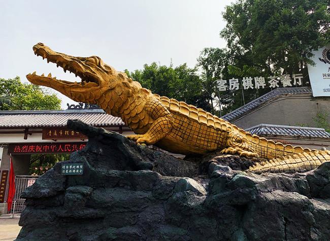Exploring a Little Known Park for Endangered Aligators in Chongqing  | James' Vlog