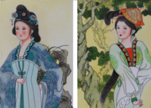 In 17 Years, She Painted 3,000 Pictures of Ladies in the Royal Palace of Tang Dynasty