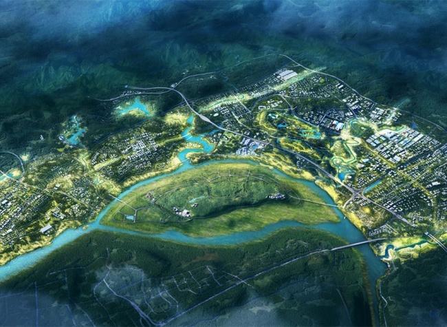 Blueprints for Guangyang Bay Eco-City Reveal World Base for Ecological Civilization